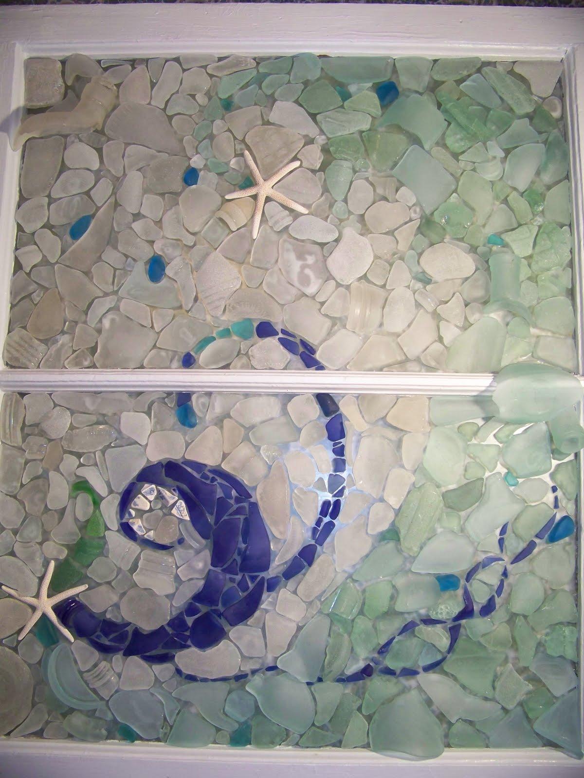 Scarborough Seashells A New Sea Glass Window