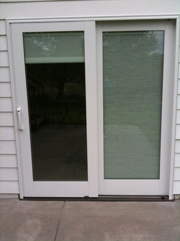 The Tangeman Family Blog The Pella Sliding Door