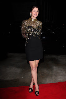 Gemma Arterton In A Little Black Dress