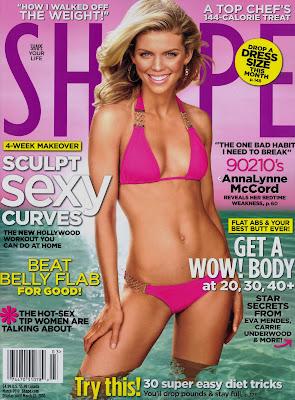 AnnaLynne McCord Shape Magazine Cover
