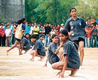 Kho Kho Game Rules http://bestofbharat.blogspot.com/2010/03/history-of-kho-kho-game-and-rules.html