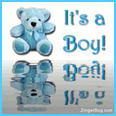 É um  menino
