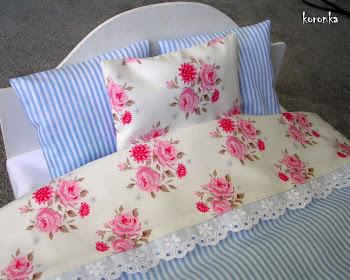 Romatyczne łóżko