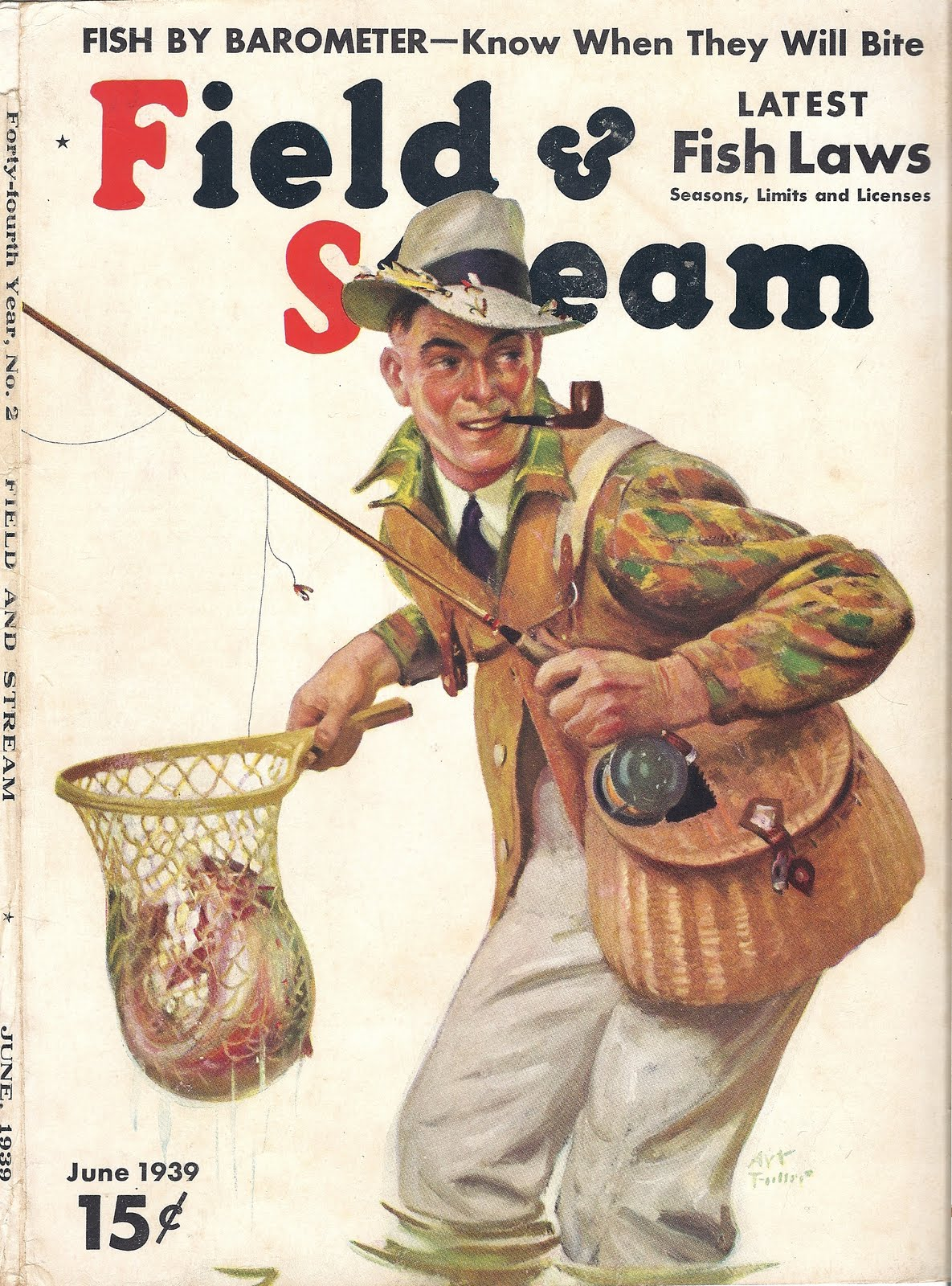 Papa nui says field and stream covers 1930 39 s for Field and stream fishing shirts