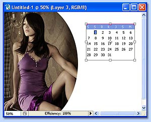 tutorial photoshop membuat kalender gambar 11