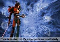 Unstoppable Time, contoh desain thumbnail image