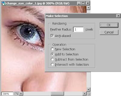 tutorial mengubah warna mata dengan photoshop