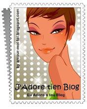 Selo Eu Adoro Teu Blog