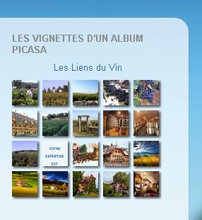 Vignettes Picasa