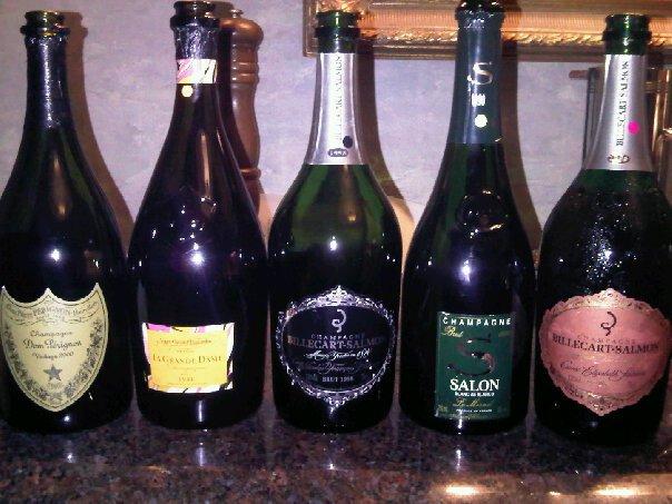 Wine cowboy dom perignon 2000 grande dame 1996 nicolas for 1996 salon champagne
