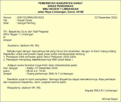 permohonan surat penolakan surat tugas surat perintah surat
