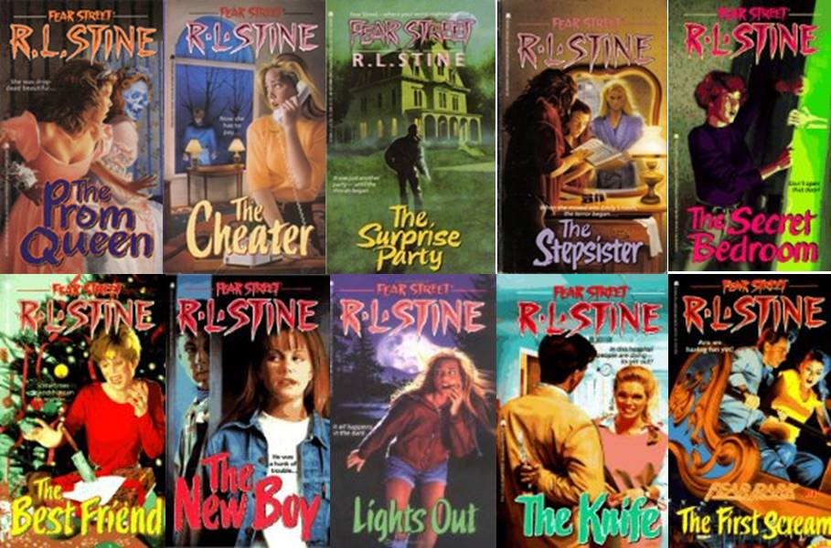 Lot of 7 Goosebumps Books #7 38 43 47 48 49 53 R.L.STINE Chicken Dummy Vampire