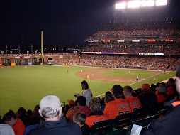 A scenic view of AT&T park