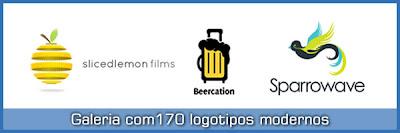 170 Logotipos modernos e espectaculares