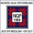 Jeg er medlem i Norsk Quilteforbund