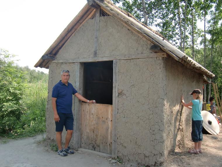 Casa de barro y paja