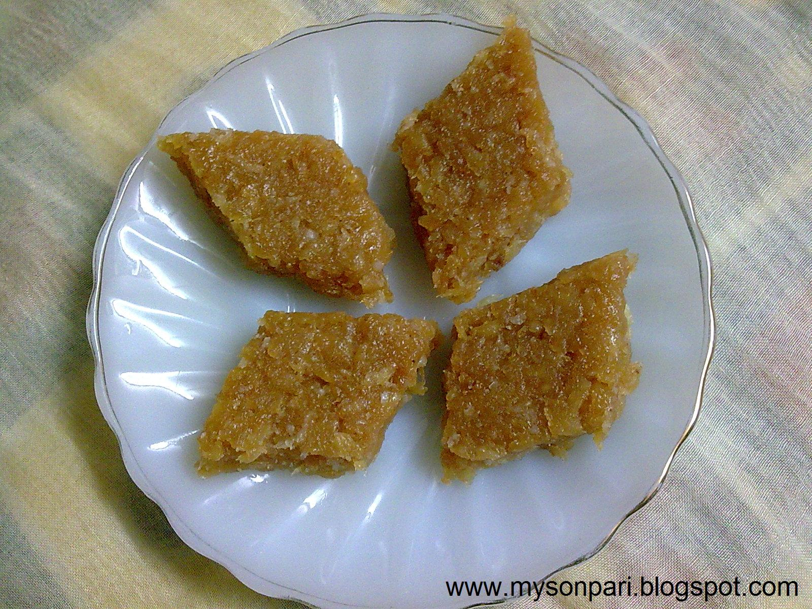 Apple Halwa