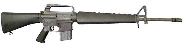 El fusil Ak- 47 vs el M-16