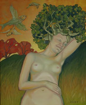 Mujer Árbol III. Sueño Feliz
