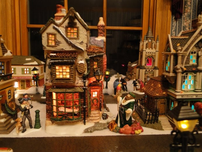 Christmas Village Lighted Houses