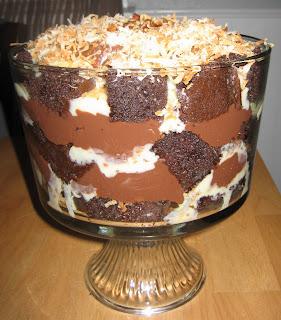 German Chocolate Cake Trifle Recipe