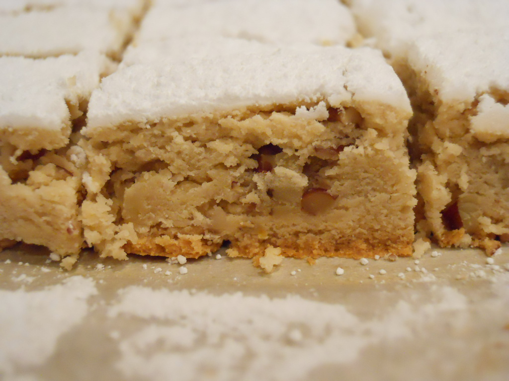 Joie Patisserie: Maple Pecan Shortbread