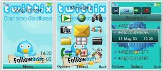 Twitter Sony Ericsson Theme