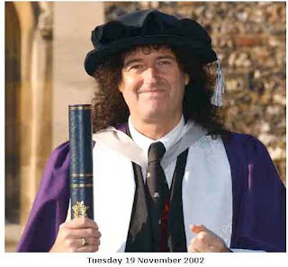 Brian May Doctor Honoris Causa