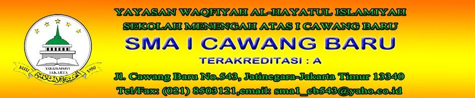SMA 1 CAWANG BARU JAKARTA