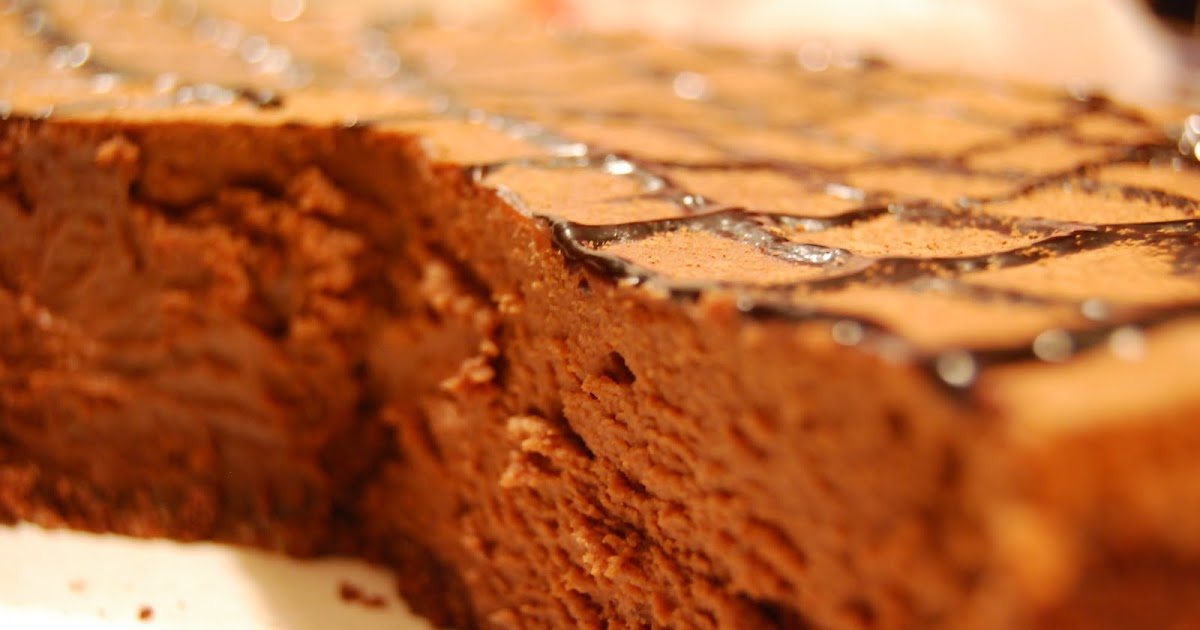 out on a limb: fudge truffle cheesecake