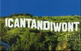 BECOME A FAN OF ICANTANDIWONT.COM ON FACEBOOK!