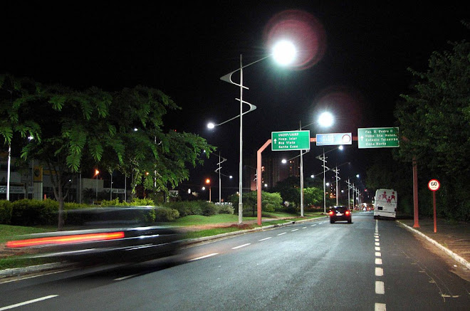 Av. Bady Bassit (Reparem no cuidado do canteiro central).