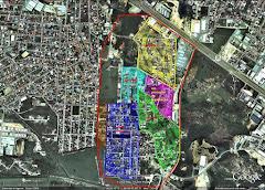 Conjunto Habitacional Pinheiros em azul
