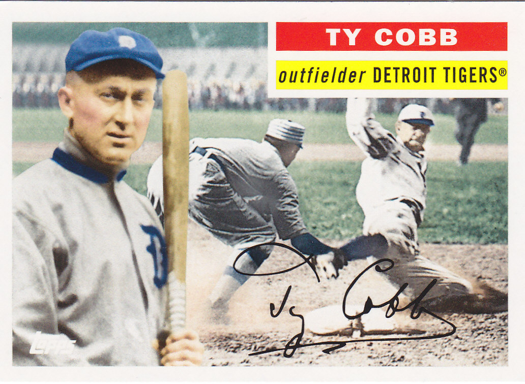 ty cobb and baseball essay