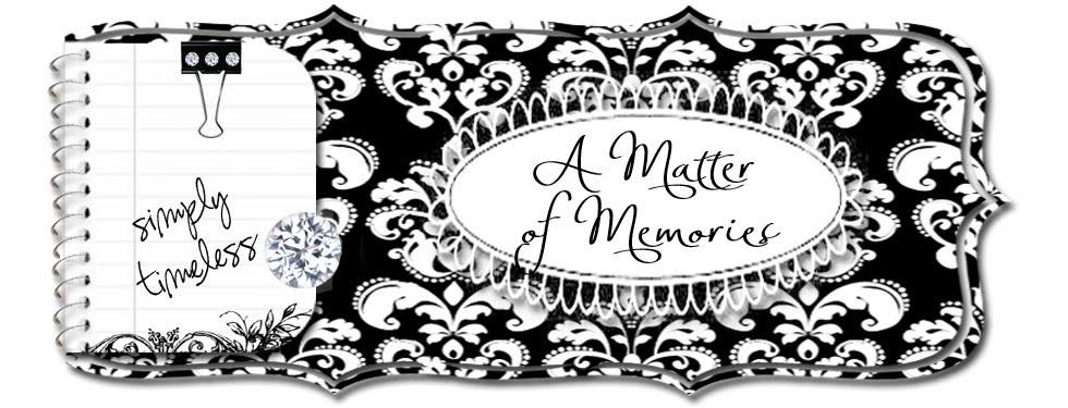 A Matter of Memories