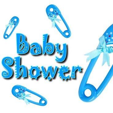 Platos desechables para baby shower