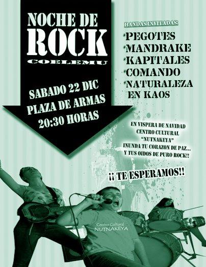 Noche de Rock... Segundo golpe