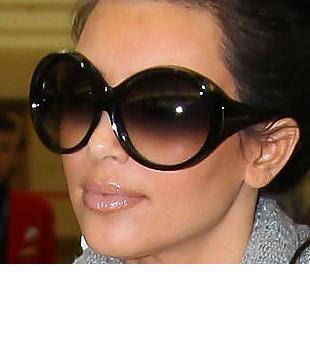 Kardashian Sunglasses on Kim Kardashian Tom Ford Sunglasses     Celebrity Wildcard