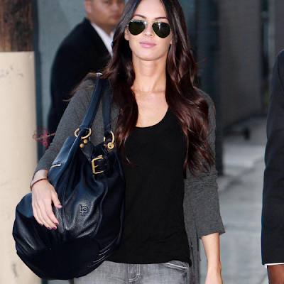 Megan Fox blue tote bag FOUND