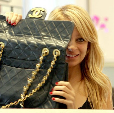 Nicole+Richie+Chanel+bag+again Nicole Richie vintage Chanel bags