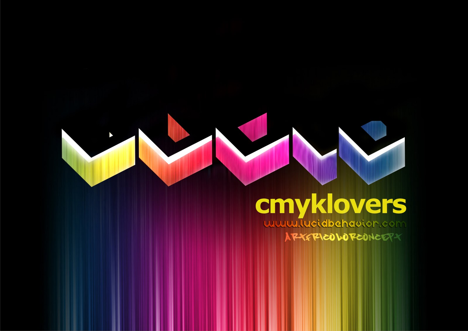 LUCID CMYK LOVERS concept 2010, Lucid Cloth.