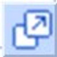 tiny blue arrow icon