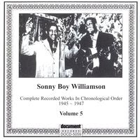 Sonny Boy Williamson I - Complete Recorded Works in Chronological Order - Volume 5