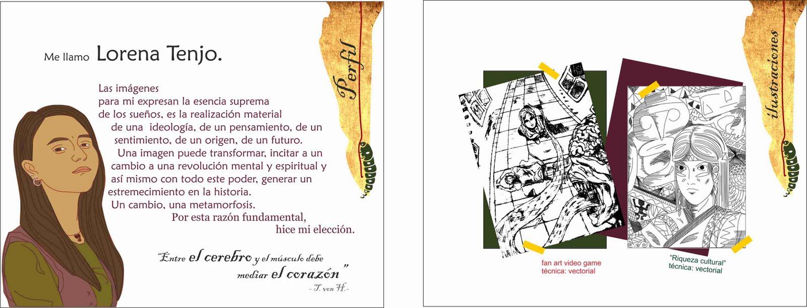 Lorenatenjo portafolio for Portafolio de diseno grafico pdf