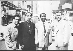 CHARLIE PALMIERI, MANNIE OQUENDO, MONGO SANTAMARIA Y VICENTICO VALDES EN NEW YORK