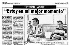 HECTOR LAVOE EN LIMA EN LA FERIA DEL HOGAR DEL 5 AL 10 DE AGOSTO DE 1986