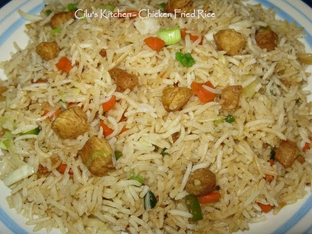 Cilu's Food: Chinese Chicken Fried Rice