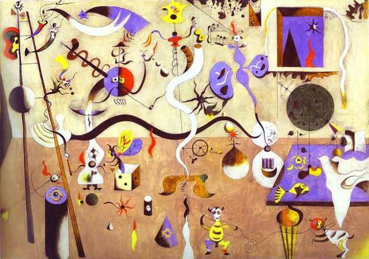 Carnaval de Arlequín. Joan Miró (1893-1983)