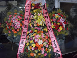 Congratulatory stand flower