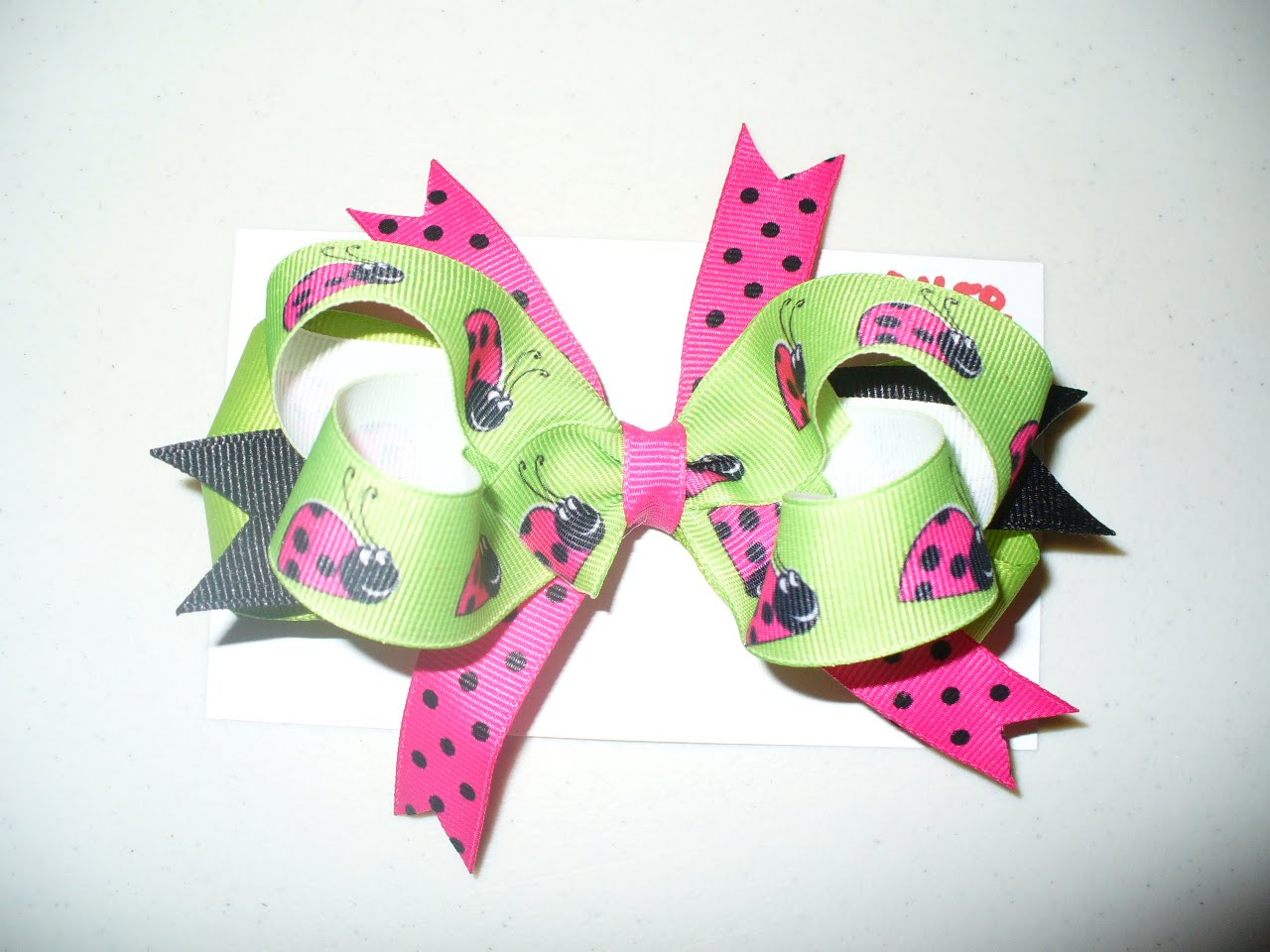 Absolutely adorable bows. I ordered three - birthday, Easter, and patriotic, along with a birthday onesie. They are beautiful, and they even sent an extra bow that matched the onesie as a.